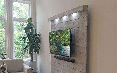 TV Wall – DIY Floating TV Wall Ideas