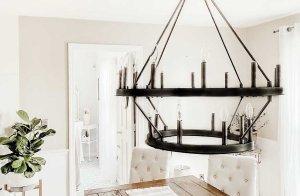 Industrial Farmhouse chandelier
