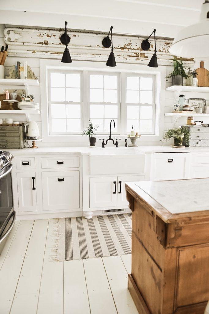 industrial farmhouse kitchen