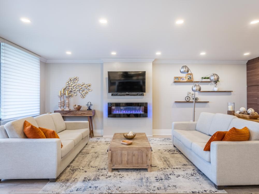best living room lighting